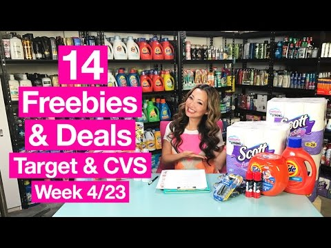 ★ 14 FREEBIES & Deals at Target & CVS (Week 4/23-4/29)