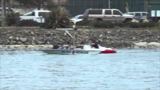 K Boat Flip Long Beach Marine Stadium