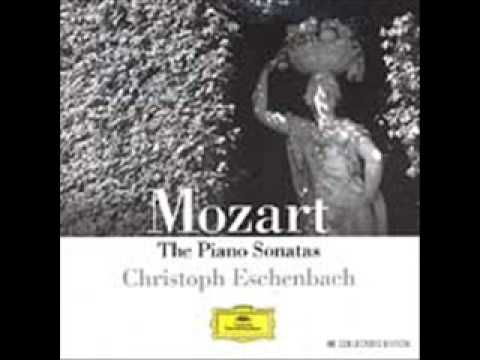 Eschenbach - Mozart, Piano Sonata K. 570 in B Flat Major - I Allegro