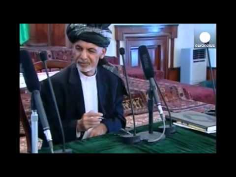 Ashraf Ghani sworn in as Afghanistan's new president