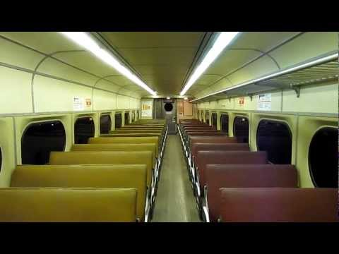Riding Inside SEPTA Silverliner II #256 from Temple U to Market East