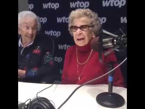 Gramma and Ginga come to WTOP Washington! 12/22/16