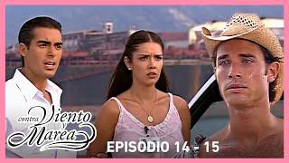 Contra viento y marea: Sebastián renuncia al amor de Natalia | Resumen C14-15 | tlnovelas