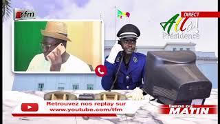 Infos du matin - 27 Aout 2020 - ALLO PRESIDENT avec PER BU XAR - NDIAYE & DOYEN
