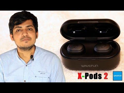 Wavefun X-Pods 2 TWS bluetooth V5.0 Earphone Deep Bass 3D Stereo