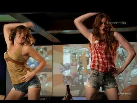Karen Gillan dancing on the bar (from NTSF:SD:SUV)