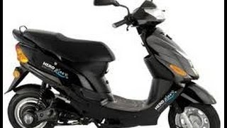 hero electric scooty battery operated