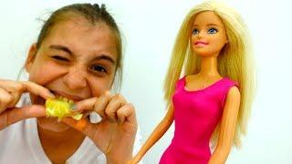Подружка Вика и Барби устраивают челлендж на смелость