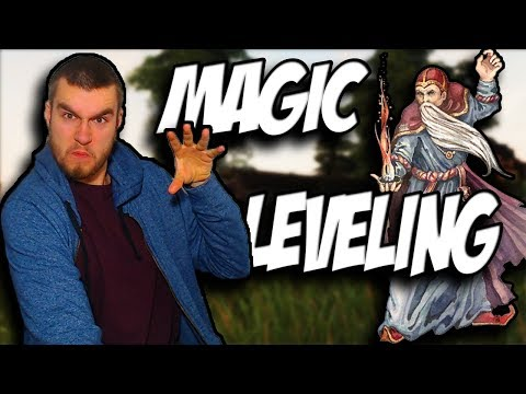 How To Level Up Magic Perfectly In Oblivion