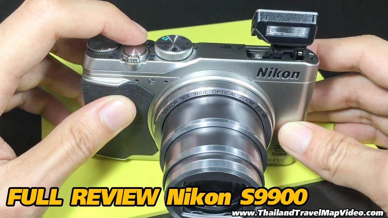 Full Review Nikon coolpix s9900 Zoom 30x รีวิวเต็ม กล้องนิคอน digital  compact camera
