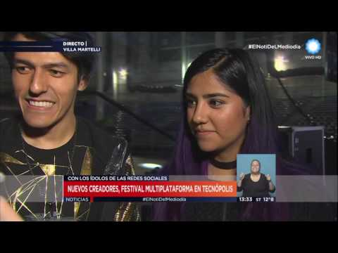 TV Pública Noticias Tecnópolis youtubers Polinesios