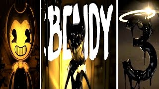 """Bendy and the Ink Machine All Trailers """"Chapter 3, 2 & 1"""""""