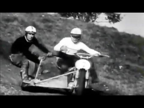 1968 Sidecarcross Schwenningen Germany - Winners Lerchenmüller & Vögel (Austria) sidecar motocross