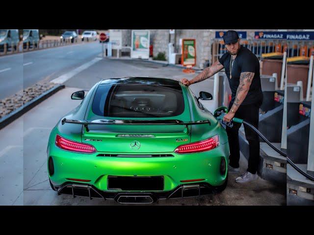 SUR L'AUTOROUTE EN AMG GT-R !!! 😈🔥
