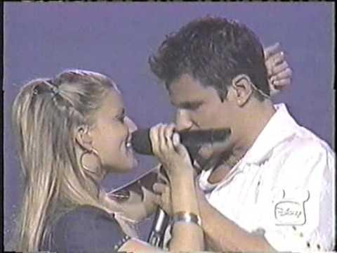 Nick Lachey & Jessica Simpson Disney Concert