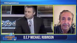 El recuerdo de Pedrerol a Michael Robinson