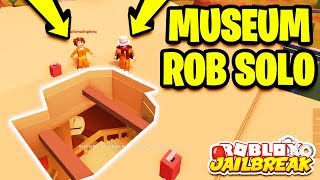 HOW TO ROB THE MUSEUM ALONE SOLO! 🏛️ (Roblox Jailbreak Museum Robbery Update)