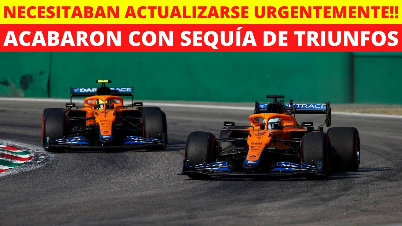 ÚLTIMA HORA! McLaren REVELA el SECRETO para conseguir la VICTORIA en Monza! | Darius Motors.