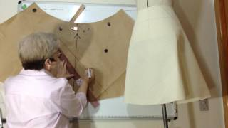 GET OUT OF 1/4 - (less volume) HOW TO MAKE THE MOLD AND CUT ON THE FABRIC