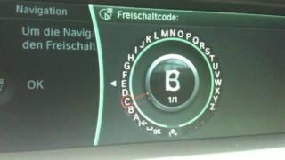 BMW : Audio über Bluetooth , und Navi Code eingeben Navigation