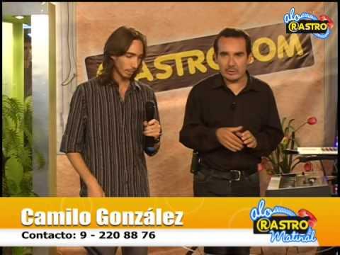 Camilo González tocando en Canal Tv Cable