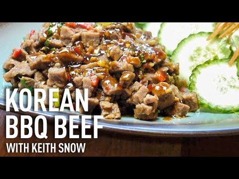 Korean BBQ Beef Recipe with Keith Snow