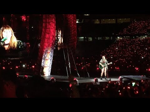 Taylor Swift Reputation Tour... in 2 Minutes (July 28, 2018 at Gillette Stadium)