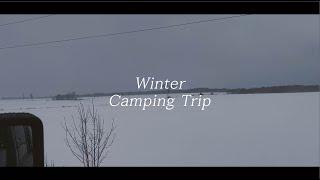 [토론토 브이로그] 캐나다 겨울 캠핑   커플 차박 여…