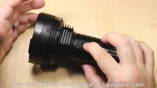 Nitecore TM16 Tiny Monster 4000 Lumen Beast Flashlight Extended Review