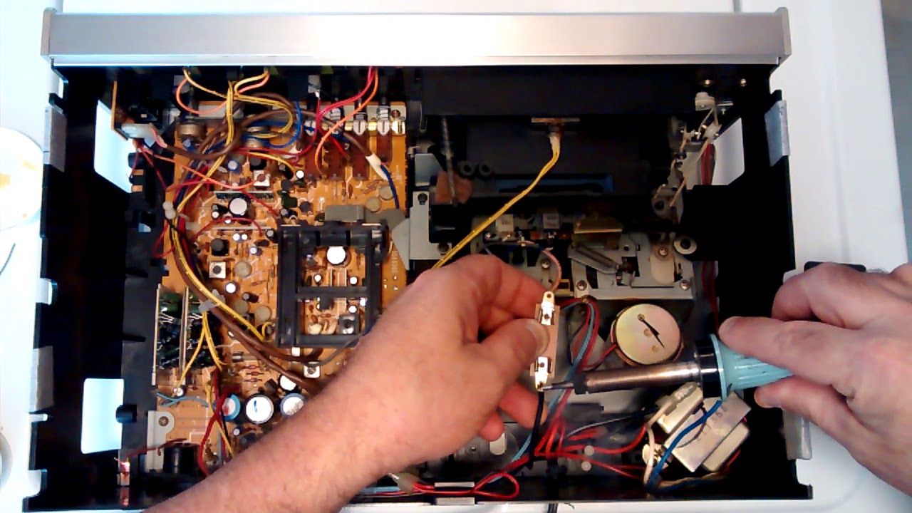 Realistic Sct -11 Cassette Deck No Line Fuse From The Factory I Put One In For  Ud83d Udd25 Safety