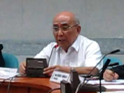 Fr. Joaquin Bernas on constitutional amendment, that two Houses must act 26 May 2009