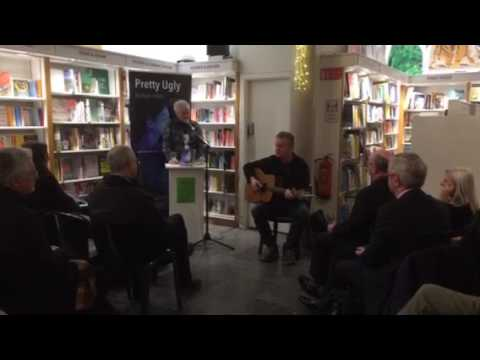 Author Sean Hillen and musician Pat Gallagher at the book launch of 'Pretty Ugly' in Dublin