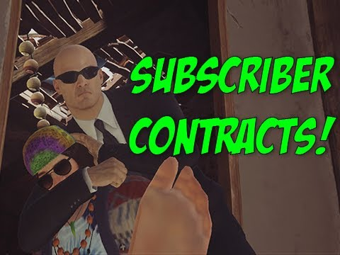 Subscriber Contracts! - Hitman
