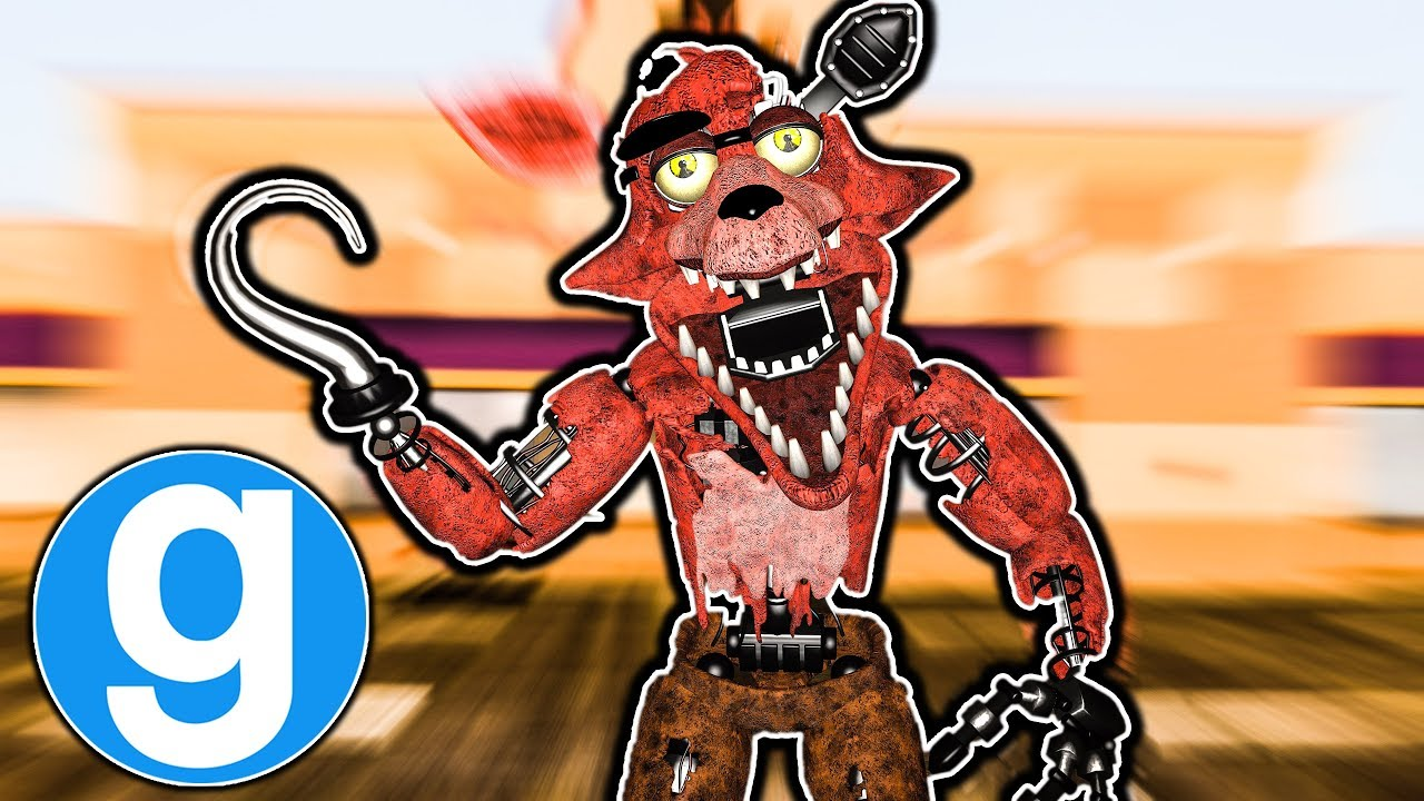 Withered Foxy New Fnaf 2 Ultimate Pill Pack Hide And Seek Five Nights At Freddys Gmod For Kids