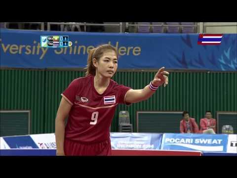 ตะกร้อหญิง เมียนม่า-ไทย Group A 2014 ASIAN GAMES Gold Medal Match