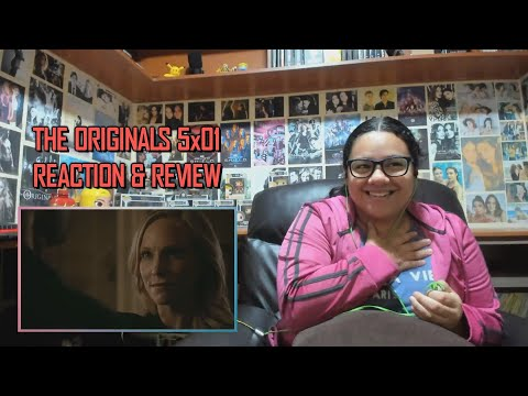 """The Originals 5x01 REACTION & REVIEW """"Where You Left Your Heart"""" S05E01 
