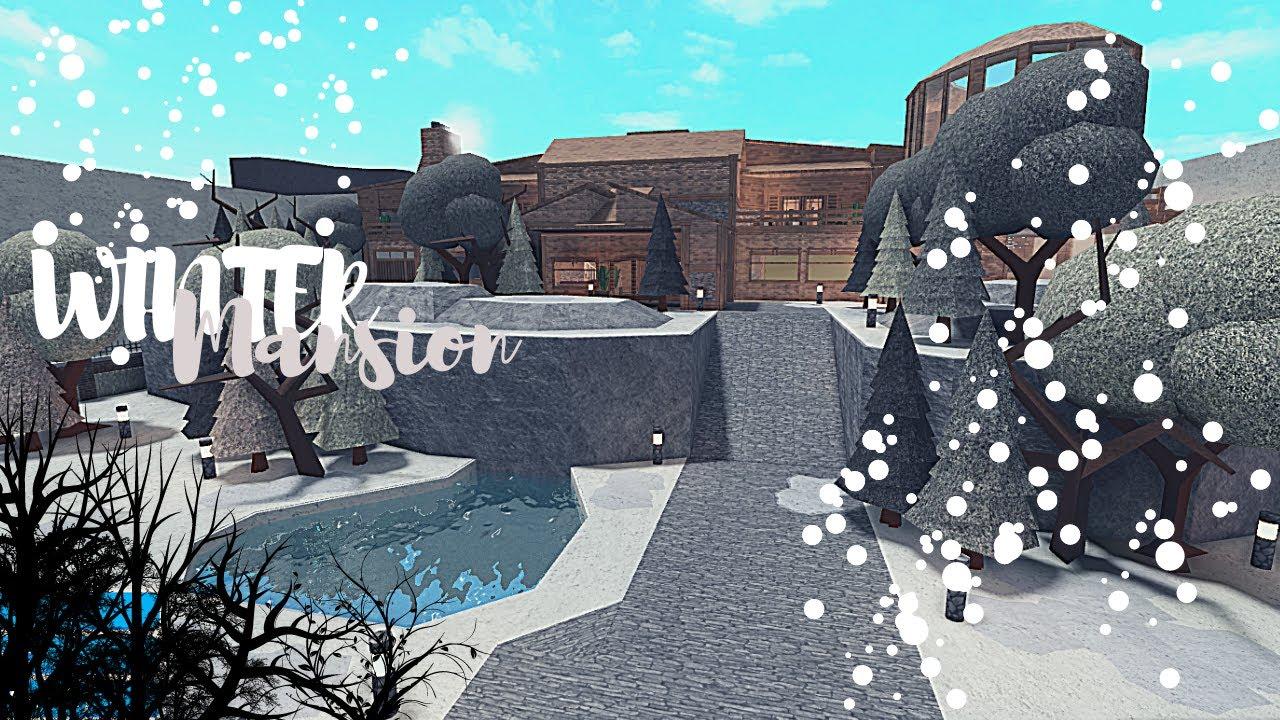 Download Bloxburg: Winter Mansion (part 1)