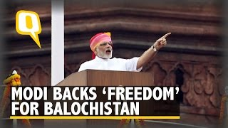The Quint: Baloch Leaders Thanks Modi for Backing Their 'Freedom' Struggle