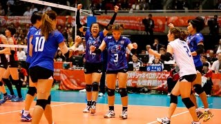 [18-05-2016] Thailand VS Japan : Volleyball Olympic : Women's qualification