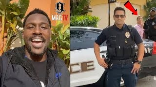"""Antonio Brown Evicts """"BM"""" Chelsie After Face-Off Wit Da Ops! 🚔"""