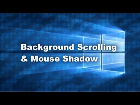 how to change background using mouse pointer sprite