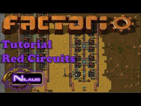 Factorio Tutorial - 12  Red Circuits