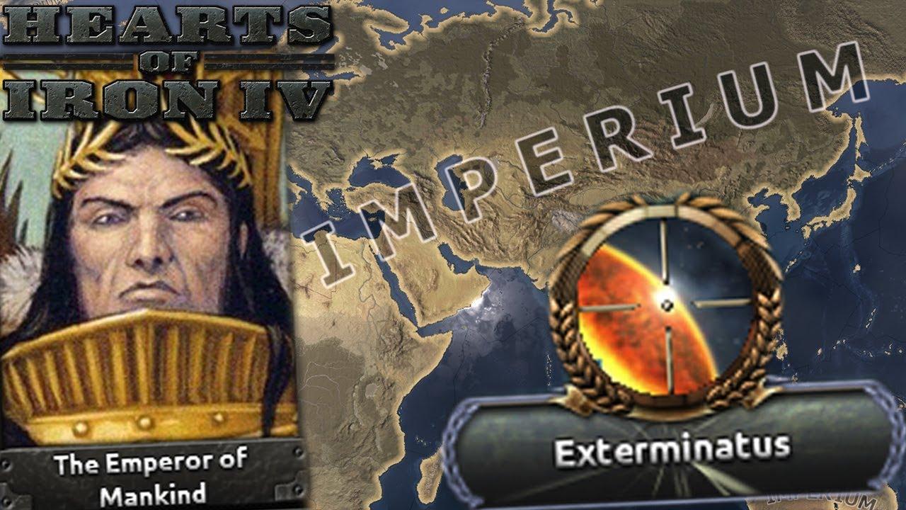 Emperor of Mankind Unites Terra! - Hearts of Iron 4: Unification Wars Mod