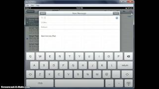 Access, Create and Send Email from iPad