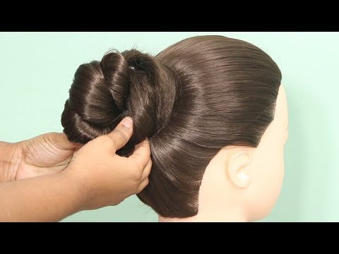diy---easy-hairstyles-for-everyday-|-easy-hairstyles-|-bun-hairstyles-for-girls