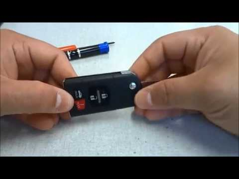 how to mazda 3 key fob battery replacement doovi. Black Bedroom Furniture Sets. Home Design Ideas