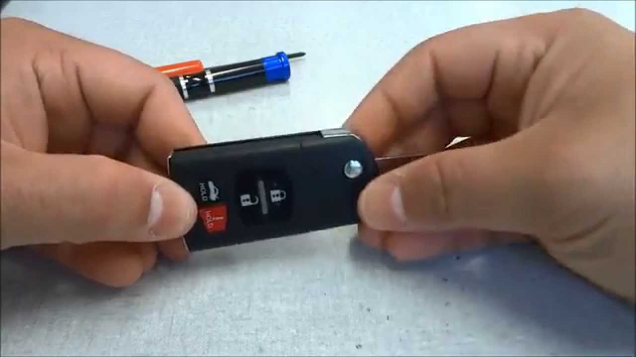 How To Change A Mazda 6 Key Fob Battery 2006 2012 Youtube