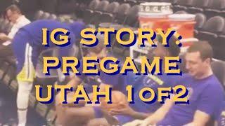 IG mix [9:16] Warriors (1-0) pregame (1of2) before Utah Jazz in Salt Lake City