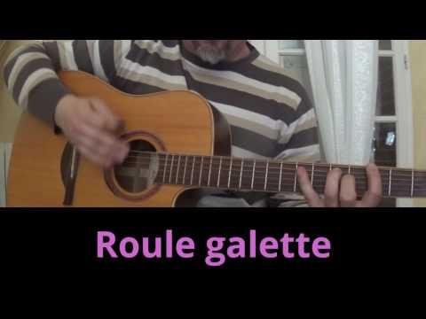 Roule galette chanson enfantine guitare