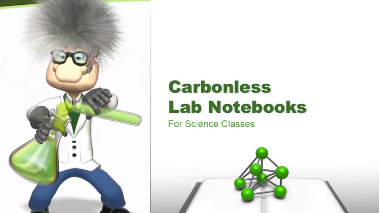 how to use carbonless lab notebooks
